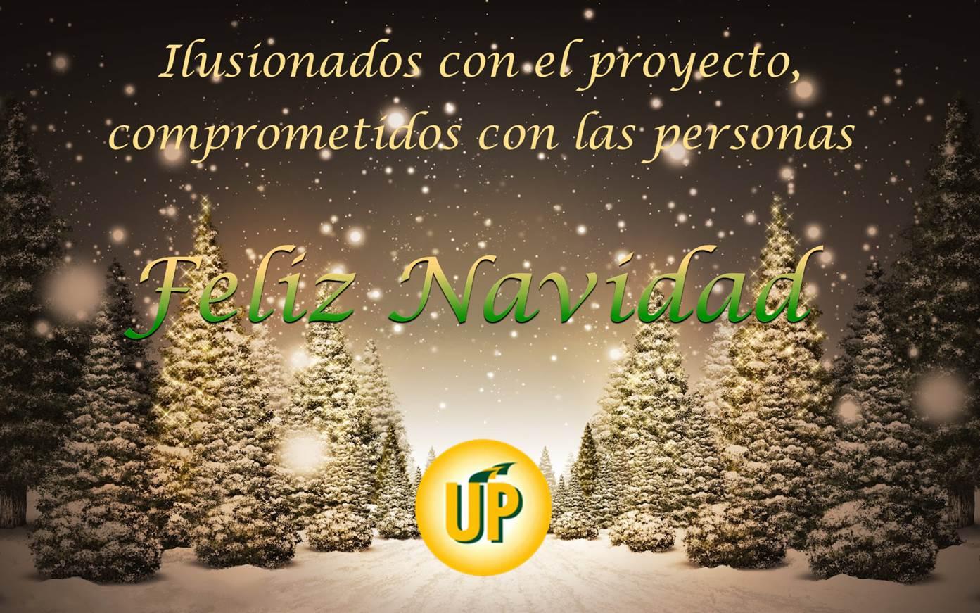 Felicitación Navideña UP