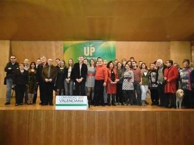 Nueva Ejecutiva de UP Valencia