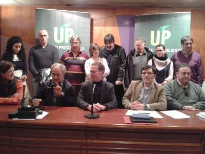 Nueva Ejecutiva de UP Guipúzcoa