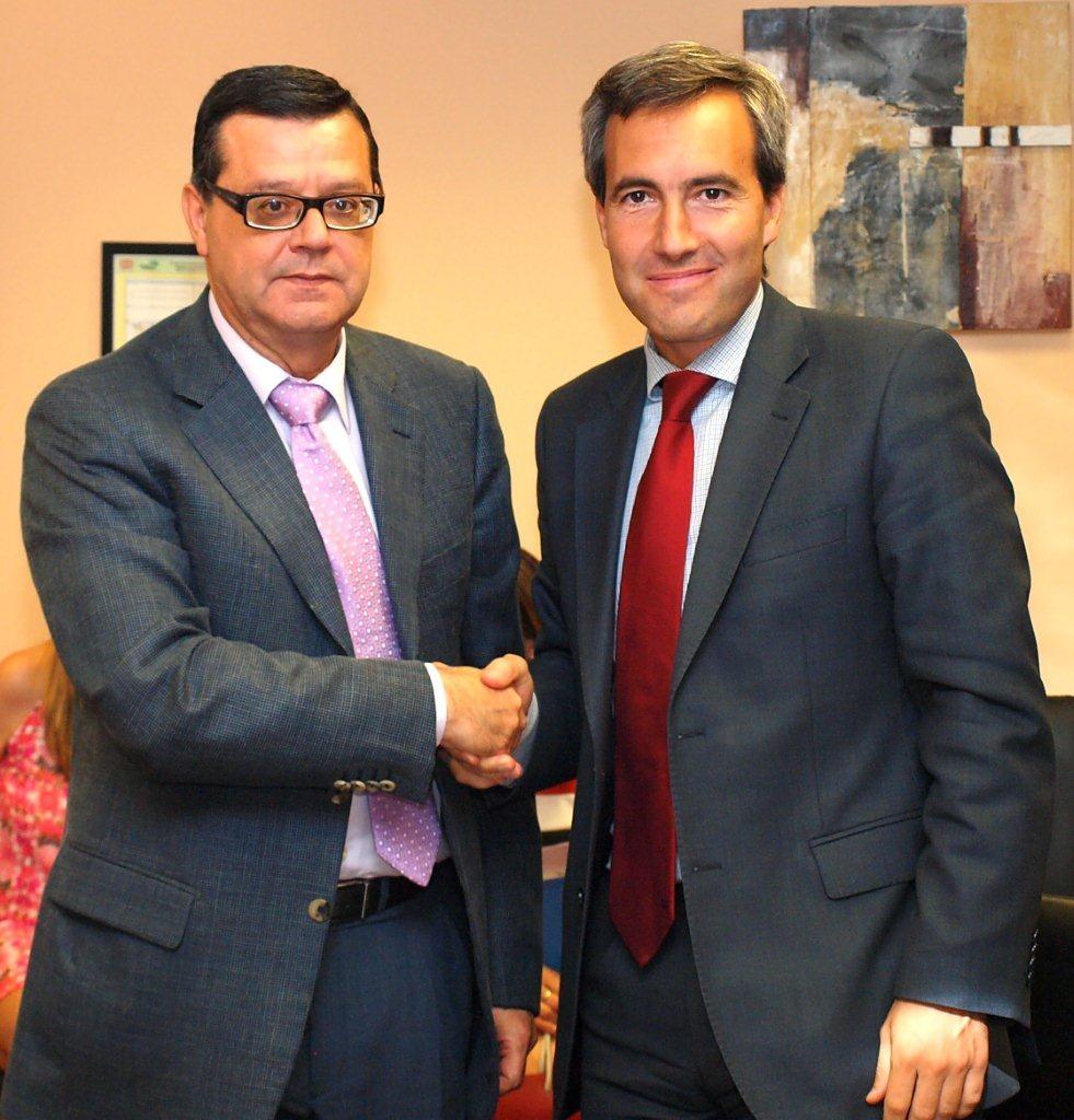 Jose Luis Martínez y Alejandro Oñoro