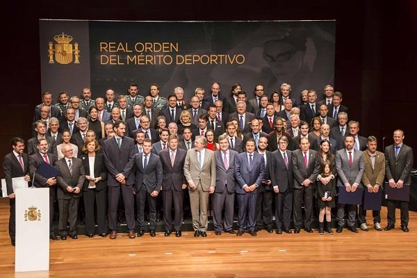 Foto Familia Medalla Merito Deportivo
