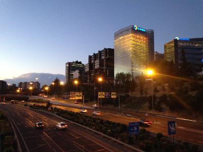 Vista nocturna de Torre ILUNION.JPG
