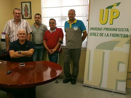 Simpatizantes a UP de Jerez de la Frontera