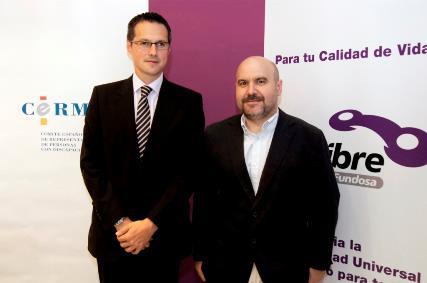 Foto Firma Convenio Vía libre CERMI Fundación Antena3
