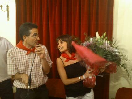 Andrés Ramos y Laura Arnáez
