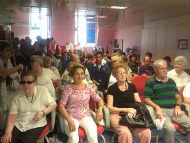 Participantes de SUPPO Euskadi en acto del Año Europeo del Envejecimiento Activo