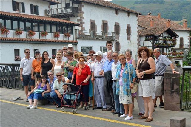 Asistentas  Navarra Compartiendo Espacios de Convivencia UP