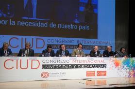 Mesa I Congreso Universidad y Discapacidad de Fundación ONCE