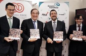 Fernando Riaño Juan Rosell Miguel Carbaleda y Alberto Duran