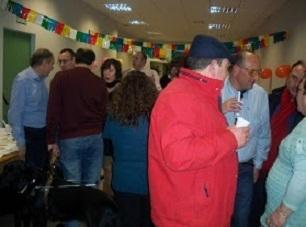 Celebración chocolatada Agrupación de Gijón.