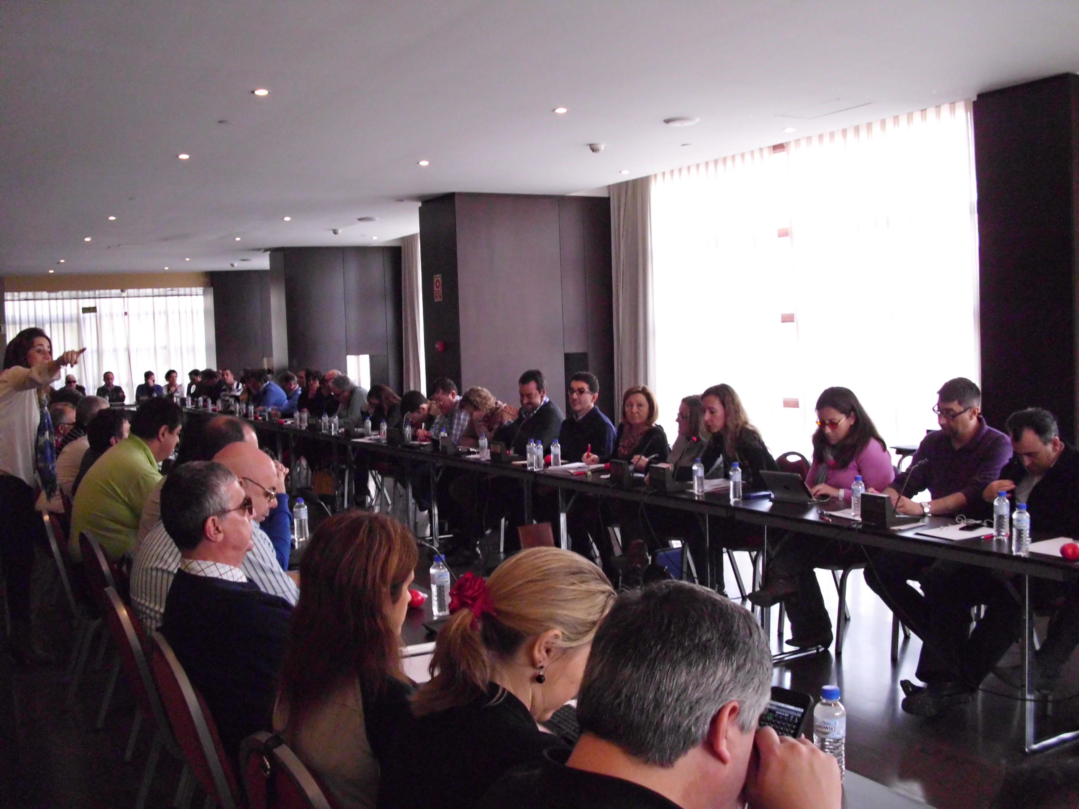 Sesión de trabajo de la Ejecutiva Deliberante