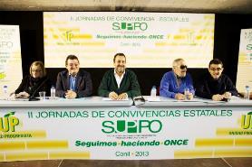 Mesa Asamblea II Jornadas SUPPO Conil Imelda Fernández Ángel Sanchez Miguel Carballeda Felix Villar y Andrés Ramos