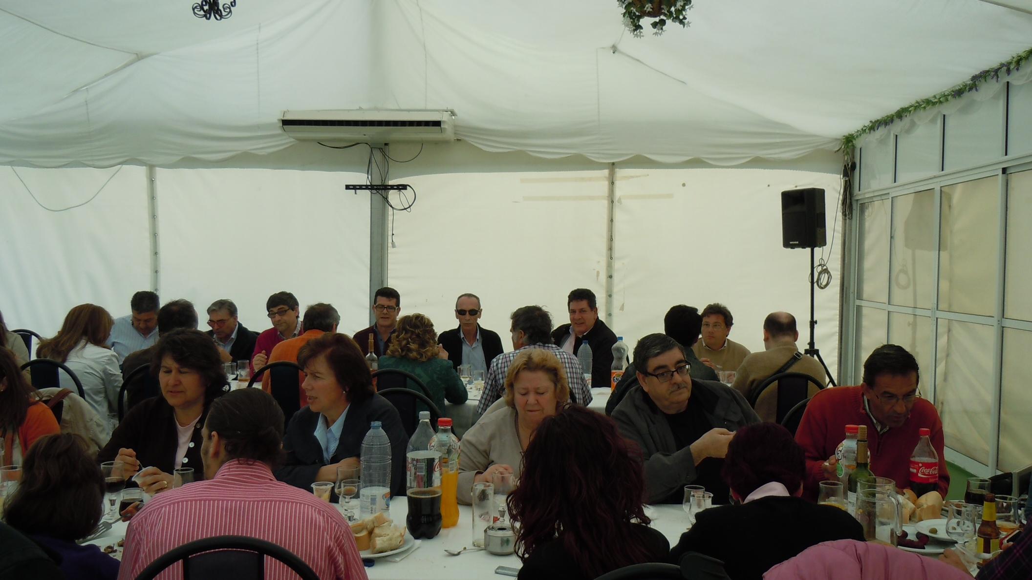 Asistentes Acto Comité Territorial Extremadura