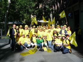 Asistentes Marea Amarilla UP Baleares