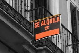 Cartel de Se Alquila