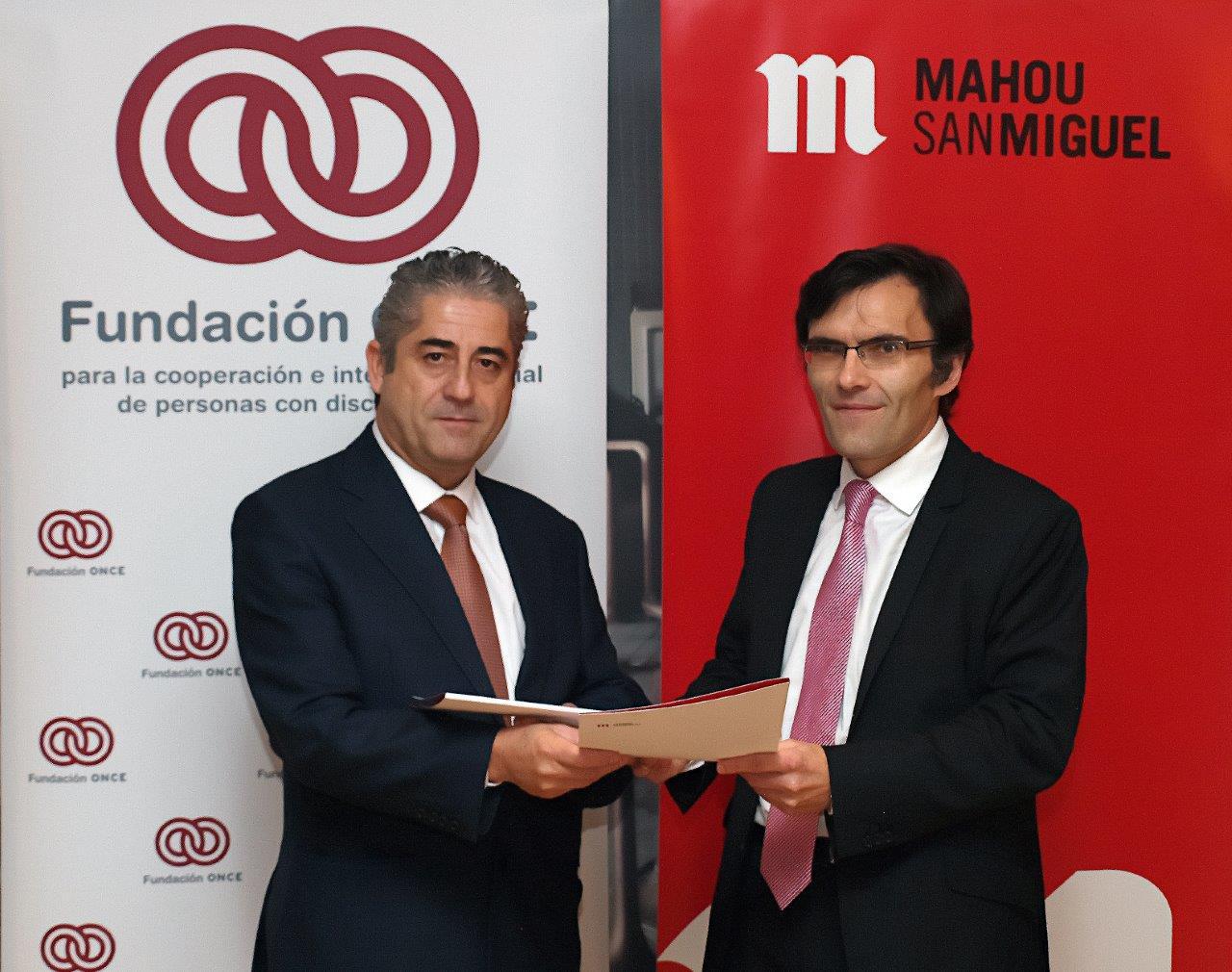 Firma convenio inserta Mahou-San Miguel