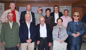 Homenajeados nacidos en 1938 Comisión SUPPO Cadiz con Felix Villar