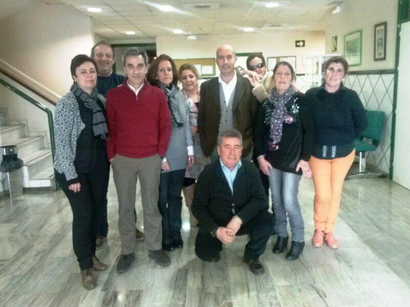 Simpatizantes UP Huelva