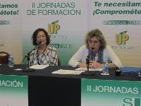 Teresa Palahi y Manoli Carrión